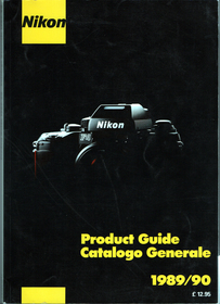 Product guide 1989 90