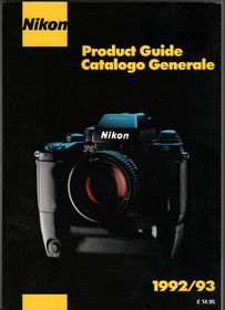 Product guide 1992 93