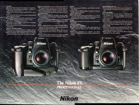 Nikon f4 dealer counter mat